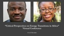 Virtual Final Conference 'Critical Perspectives on Energy Transitions in Africa' (December 2020)